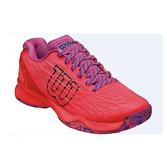 Wilson Kaos clay court women's fiery coral/fiery red / rose violet