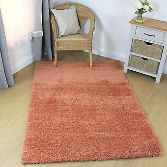 Velvet Shaggy alfombras en Durazno