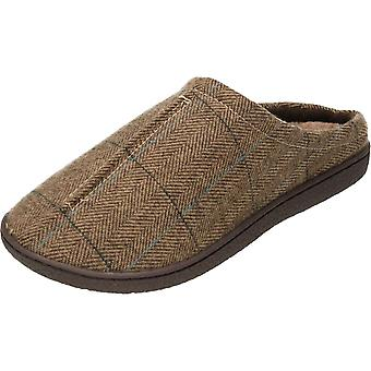 Cushion-Walk Tweed Mule Slipper Warm Slip On Clogs