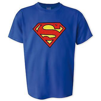 Superman t-paita logo alkuperäisen