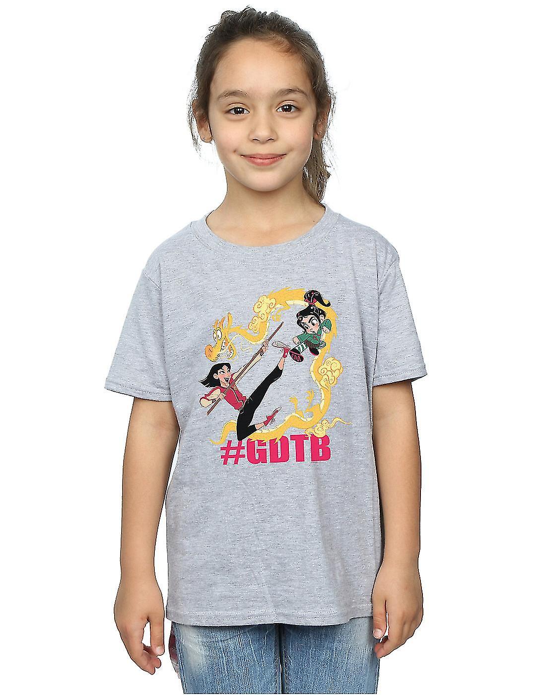 Disney Girls Wreck It Ralph Mulan And Vanellope T-Shirt