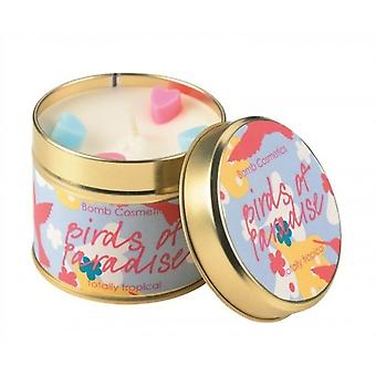 Bomb Cosmetics Tin Candle Birds Of Paradise