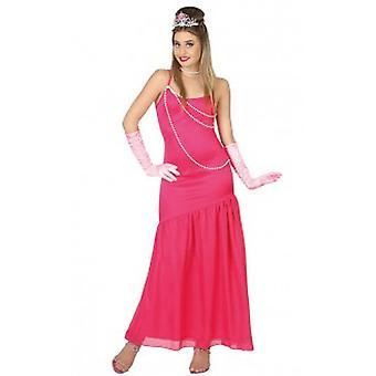 Trajes de mulheres mulheres rosa estrela de cinema, vestido