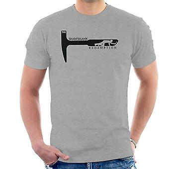 De Shawshank Redemption Rock Hammer T-Shirt voor mannen