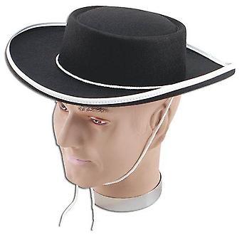 Zorro/Bandit kapelusz.