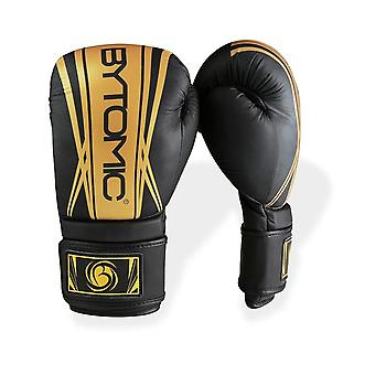 Bytomic eixo V2 luvas de boxe preto/ouro