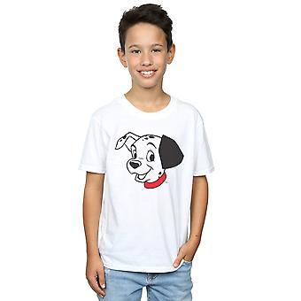 Disney jungen 101 Dalmatiner Dalmatiner Kopf T-Shirt
