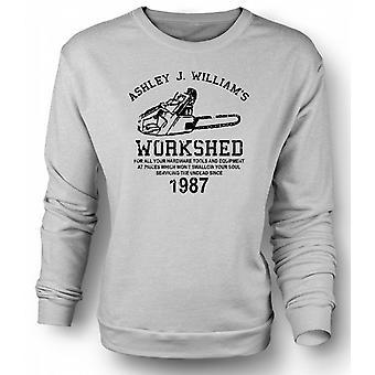 Womens Sweatshirt Evil Dead - Ash Williams - Kettensäge