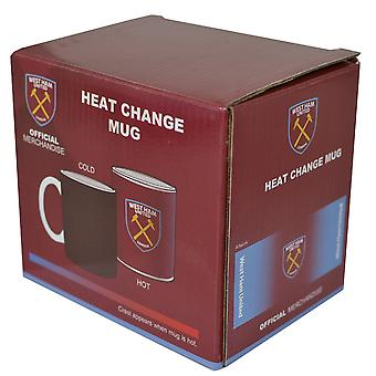 West Ham Gradient Heat Changing 11oz Mug
