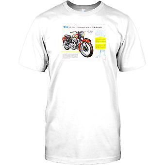 BSA A10 Super Rocket - klassieke Britse Bike Mens T Shirt