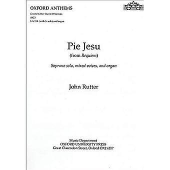Pie Jesu (à partir de Requiem): chant, piano (hymnes d'Oxford)