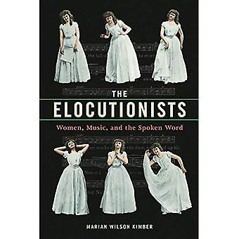 Os Elocutionists: Mulheres, música e a palavra falada (música na vida americana)