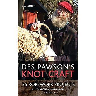 Ofício de nó de des Pawson: 35 projetos de cordoaria