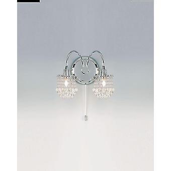 Milieu indendørs væglampe - Endon 850-2CH