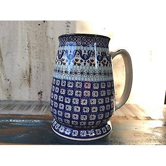Øl krus, 15 cm høy, 500 ml pluss skum, Marrakech, BSN A-1423