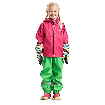 Didriksons Slaskeman Kids Waterproof Set - Green