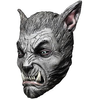 Silver Wolf bête masque en Latex pour Halloween