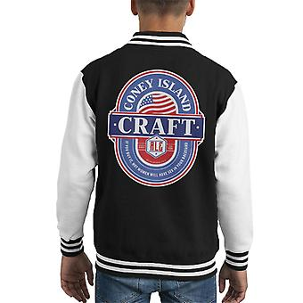 Coney Island Craft Ale Kid's Varsity Jacket