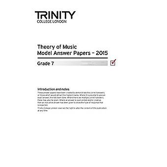 Theory Model Answer Papers Grade 7 2015 - 9780857365224 Book