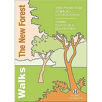 Walks the New Forest by Richard Hallewell - Rebecca Coope - 978187240