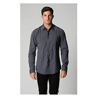 Chemise à manches longues à rayures Deacon Basso