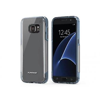 PUREGEAR SLIM SHELL PRO CASE FOR SAMSUNG GALAXY S7 - CLEAR/LIGHT GRAY