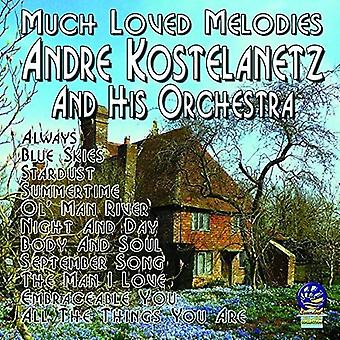 Andre Kostelanetz & Orchestra - Much Loved Melodies [CD] USA import
