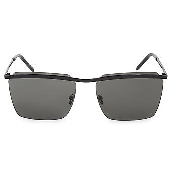 Saint Laurent SL 243 003 60 Rimless Rectangular Sunglasses