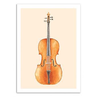 Art-Poster - Cello - Florent Bodart