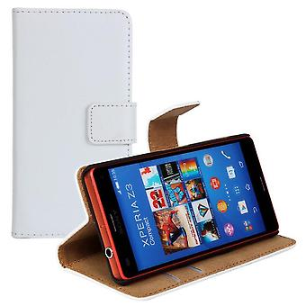 Wallet Case Sony Z3 Compact, genuine leather