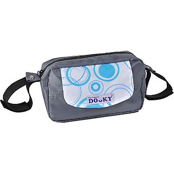 Dooky Travel Buddy Aqua Circles