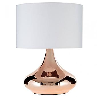 Premier hem Jaden bordslampa, koppar