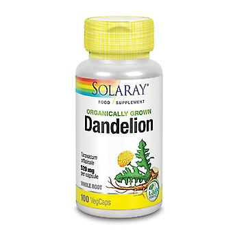 Solaray Organically Grown Dandelion Root Vcaps 100 (61783)