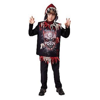 Bristol nieuwigheid Childrens/Kids duivel Tabard en capuchon