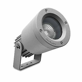 1 proyector de luz al aire libre gris IP65