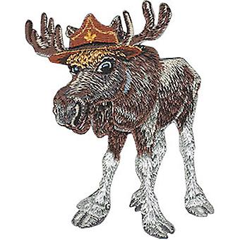 Patch - Animal Club - Moose Iron-On New Gifts Toys p-4528