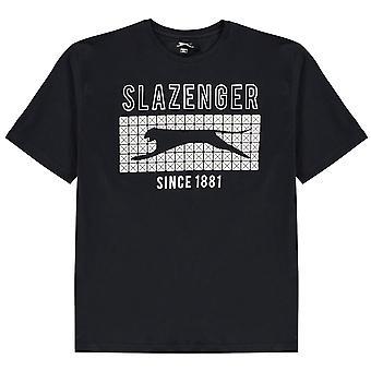 Slazenger Herren Stile T Shirt Rundhals T-Shirt T-Shirt Top
