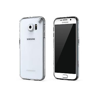 PureGear Slim Shell Case with Kickstand for Samsung Galaxy S6 - Clear/Clear