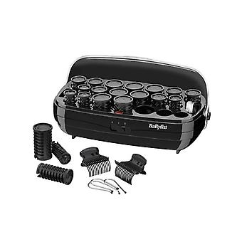 BaByliss 3045U 20 Pièces Thermo Heated Ceramic Hair Rollers Set - 3 Ans Warranty