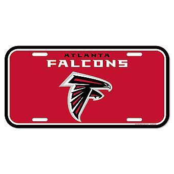 Wincraft NFL لوحة ترخيص -- اتلانتا الصقور