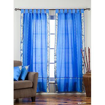 Scheda Top Sari pura tenda blu / drappo / pannello - pezzo