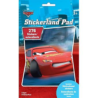 Stickerland Pad - Disney Cars - 4 pages Toys Gifts Stationery New dcr4sp2