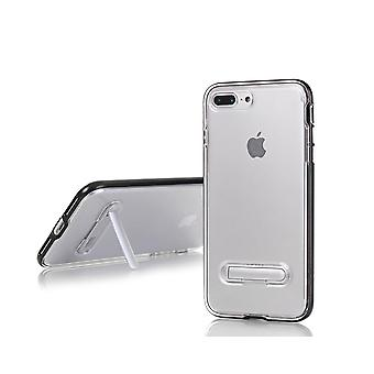 TPU Case with telephone stand + 2pcs Screen Protector iPhone 7 +/8 +