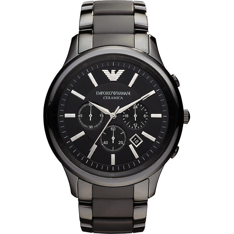 Emporio Armani Men's Ceramic Chronograph Watch AR1452