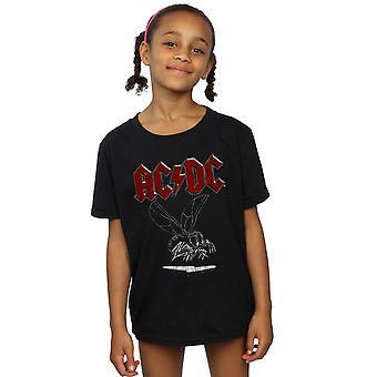 AC/DC Mädchen fliegen auf die Wand 1985 T-Shirt