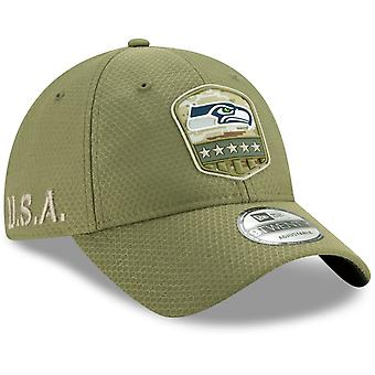 New Era 9Twenty Cap Salute to Service Seattle Seahawks