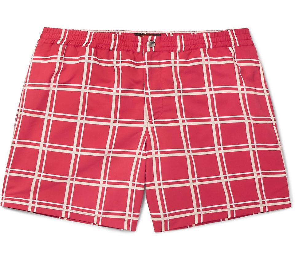 Checked Swim Shorts