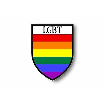 Sticker Sticker Sticker Motorcycle Car Blason City Rainbow Rainbow Rainbow