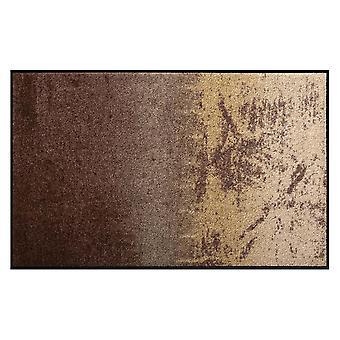 Salonloewe Fußmatte waschbar Shabby Brown 75x120 cm SLD0814-075x120