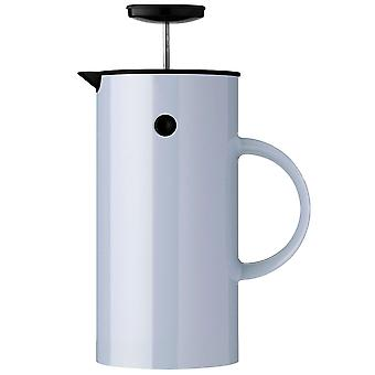 Stelton EM77 press filter jug cloud / light blue 1 litre coffee maker